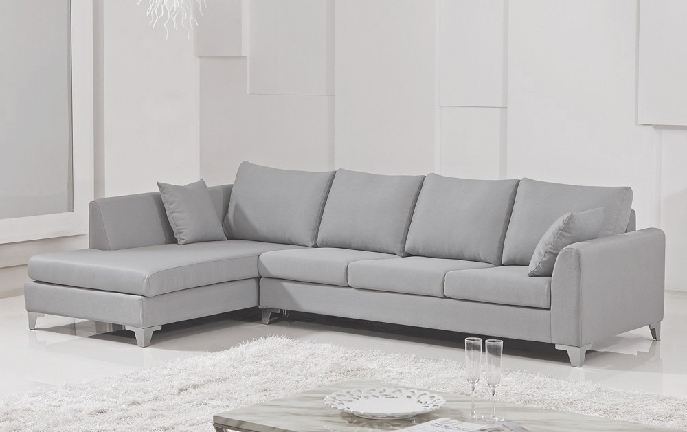 Most Recently Released Amazing Living Rooms : Gray Sectional Sofa Gray Earth Tones Regarding Light Grey Sectional Sofas (View 9 of 10)