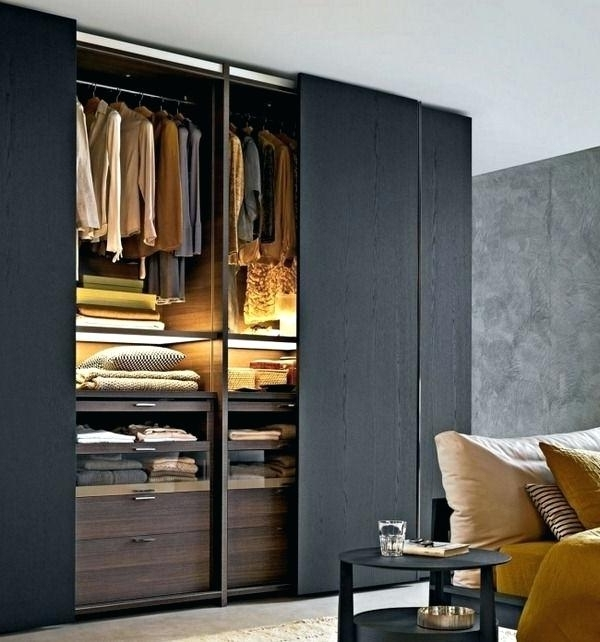 Most Recently Released Black Wood Wardrobe Closet Full Size Of Wardrobes Clothing With Regard To Black Wood Wardrobes (View 7 of 15)