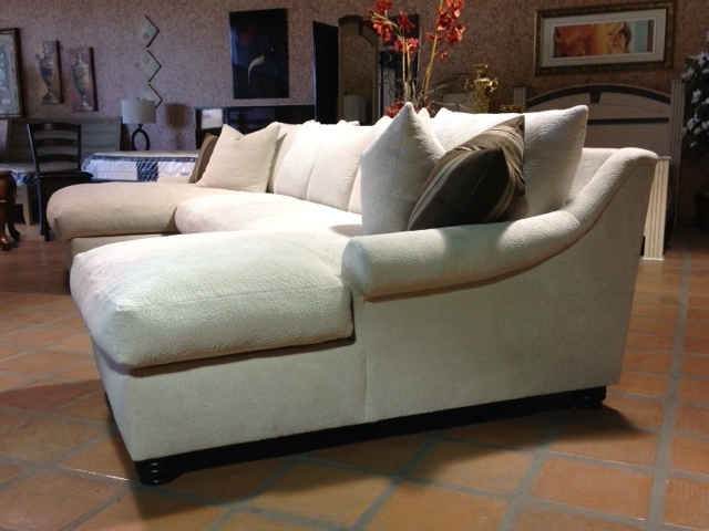 Most Recently Released Bradly Double Chaise Feather Down Sectional For Double Chaise Sectionals (View 13 of 15)