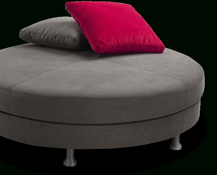 Most Recently Released Circle Sofas For Round Sofa Without Backrest (View 7 of 10)