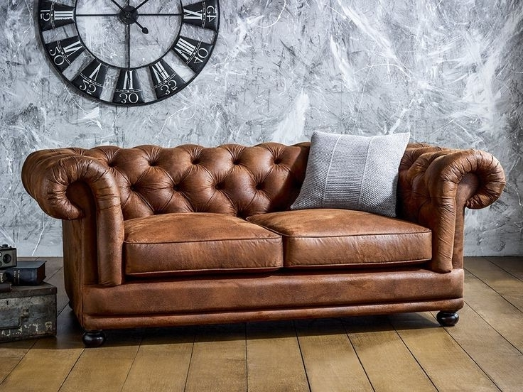 Most Recently Released Collection In Chesterfield Tufted Leather Sofa – Interiorvues Within Tufted Leather Chesterfield Sofas (View 3 of 10)