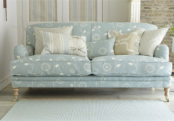 Most Recently Released Designer Fabric Sofas – Traditional & Classic Upholstered Luxury In Traditional Fabric Sofas (View 5 of 10)