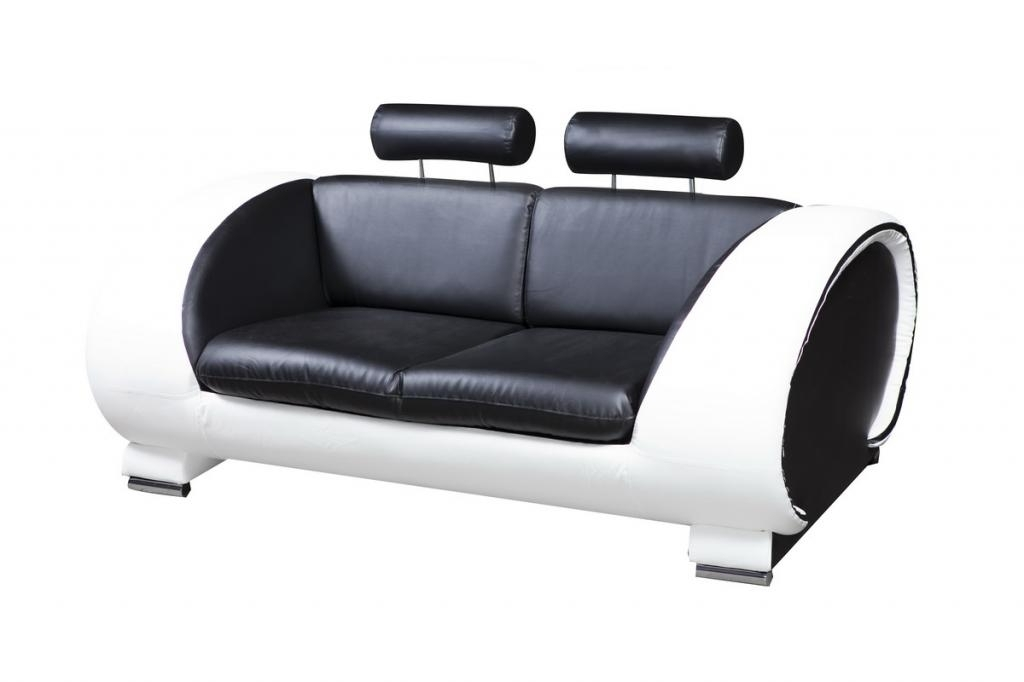 Most Recently Released Emejing Black Leather Sofa 2 Seater Ideas – Liltigertoo With Black 2 Seater Sofas (View 8 of 10)
