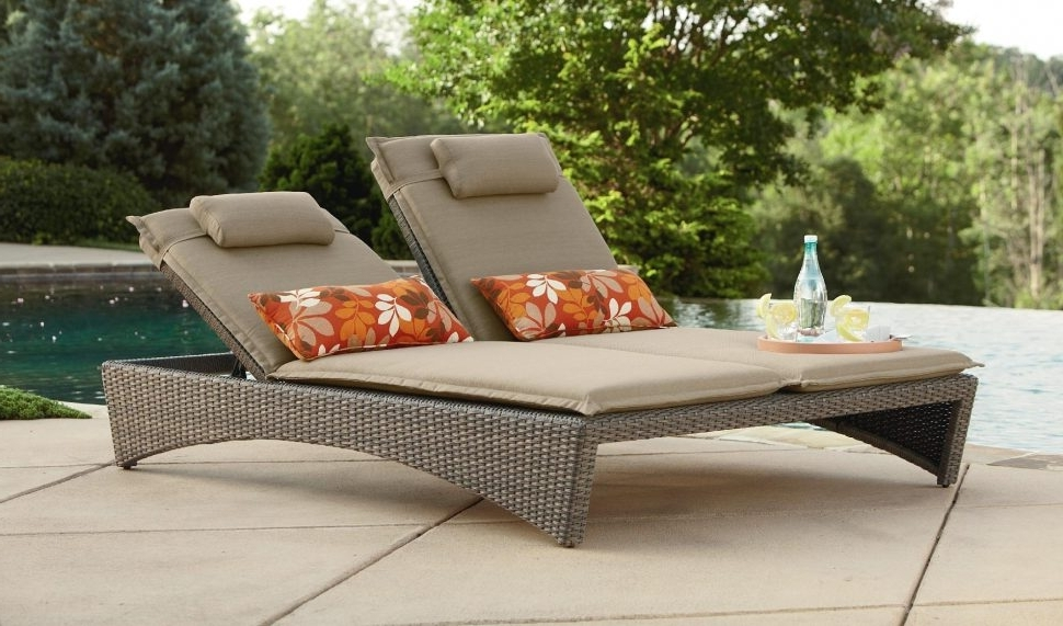 Most Recently Released Extra Wide Outdoor Chaise Lounge Chairs Inside Lounge Chair : Outdoor Couch Sling Chaise Lounge Chairs Outdoor (View 10 of 15)