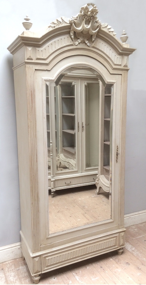 Most Recently Released French Armoires > Antique Armoires, Rococo, Vintage Provencal Inside Single French Wardrobes (View 13 of 15)