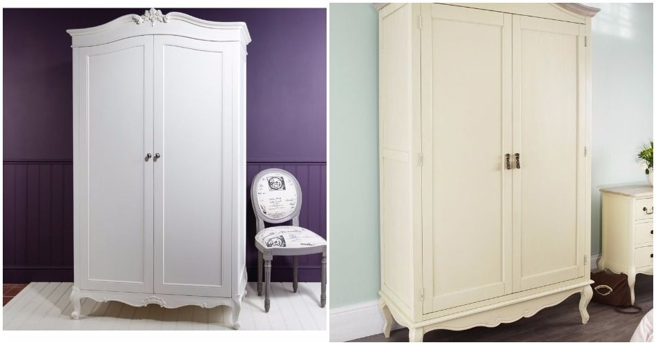 Most Recently Released French Style Wardrobes Regarding White Painted Wardrobes (View 9 of 15)