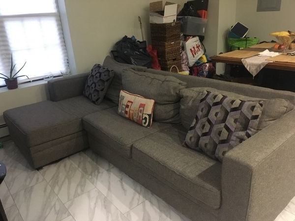 Most Recently Released Grey Sectional Sofa $350 (Furniture) In Queens, Ny – Offerup Inside Queens Ny Sectional Sofas (View 7 of 10)
