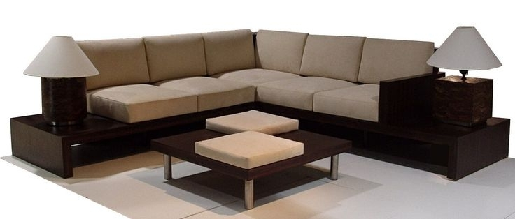 Most Recently Released L Shape Sofa In Loose Seat And Back Cushions (View 4 of 10)