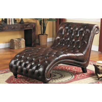 Most Recently Released Leather Chaises In Lazzaro Leather Chaise Lounge & Reviews (View 10 of 15)