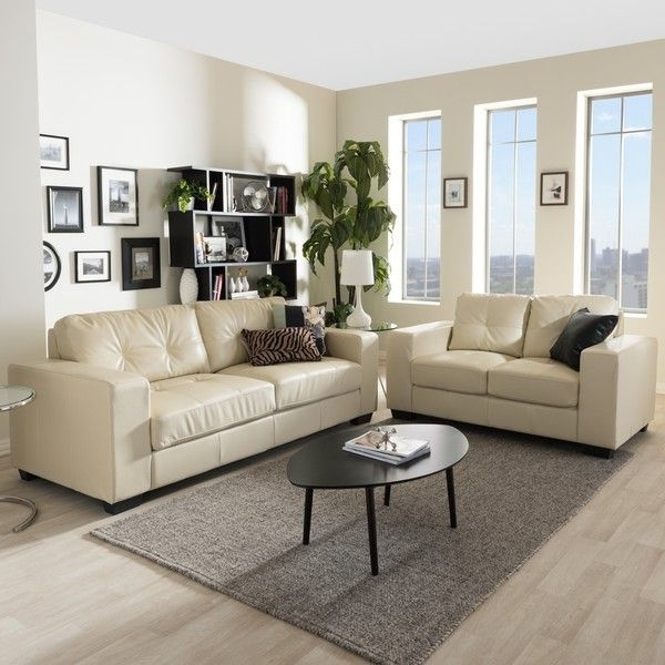 Most Recently Released Magnificent Colored Leather Sofas Best Ideas About Faux With Cream For Cream Colored Sofas (View 9 of 10)
