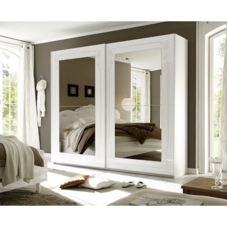 Most Recently Released Mila Ii Wardrobe With White Gloss Doors And Mirrors – Wardrobes Inside Wardrobes White Gloss (View 4 of 15)