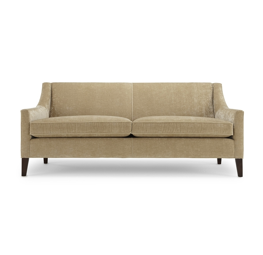 Most Recently Released Mitchell Gold Sofas Inside Formal Living Area: This Smaller Scale, Clean Line Sofa Can Go (View 5 of 10)
