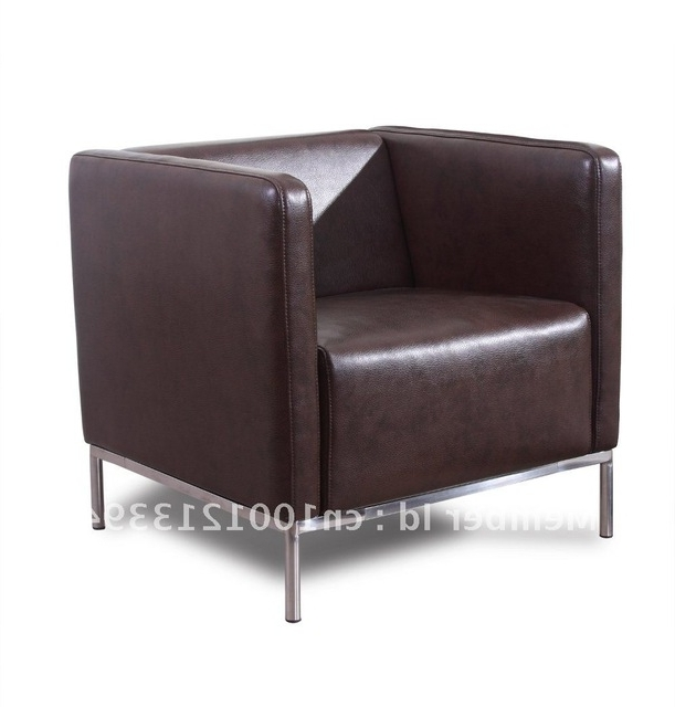 Most Recently Released Modern Furniture / Living Room Fabric/ Bond Leather Sofa/ Sofa In Single Sofa Chairs (View 4 of 10)