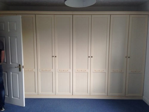Most Recently Released Painting Fitted Wardrobes? Intended For White Painted Wardrobes (View 10 of 15)
