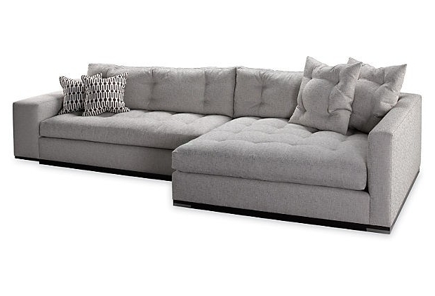 Most Recently Released Sofa Bed Chaises Inside Left Chaise Sectional Sofa – Foter (View 15 of 15)