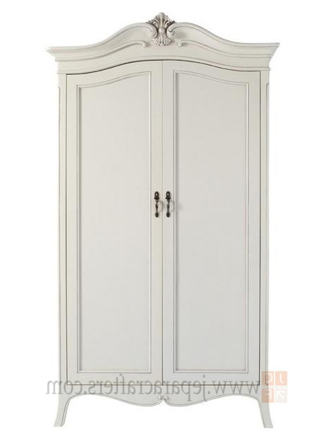 Most Recently Released Stylish Armoire White Wardrobe (View 9 of 15)