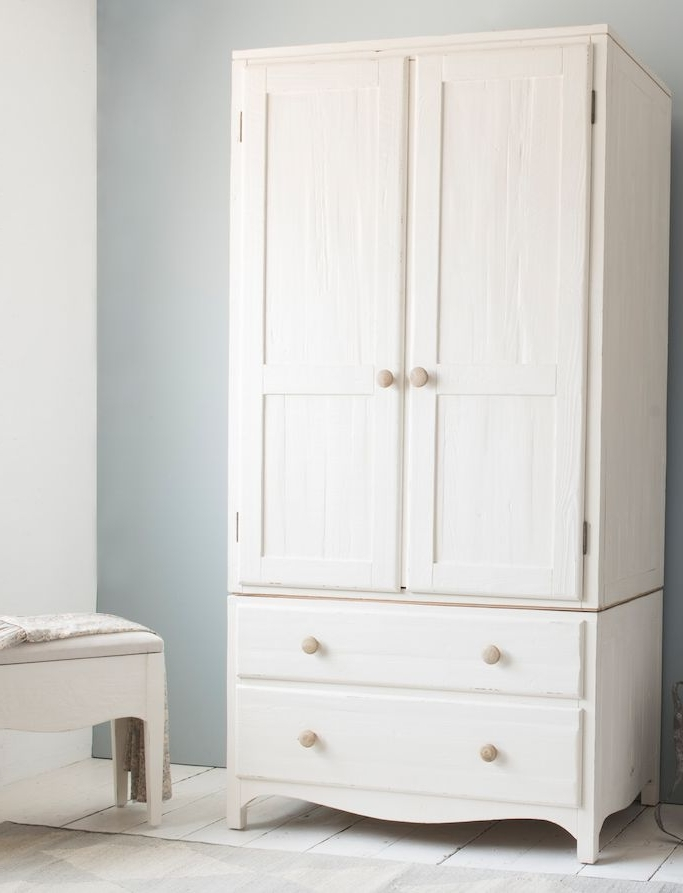 Most Recently Released White Wood Wardrobes With Drawers With Regard To Classic Small Wardrobe (View 5 of 15)