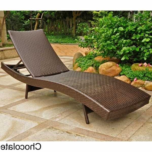 Most Recently Released Wicker Chaise Lounge (View 13 of 15)