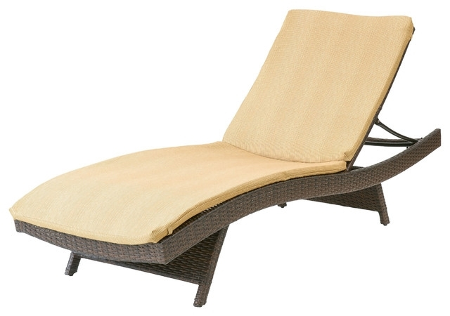 Most Recently Released Wonderful Outdoor Chaise Lounge Cushion Christopher Knight Home With Chaise Lounge Chairs With Cushions (View 8 of 15)