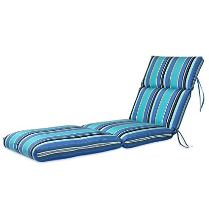 "Most Up To Date Amazon : 22W X 72L X 5H Hinge At 26"" Sunbrella Outdoor With Regard To Sunbrella Chaise Cushions (View 5 of 15)"