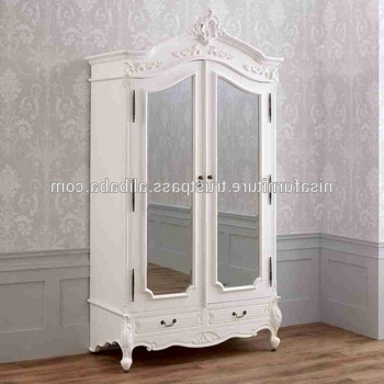 Most Up To Date Antique Style Wardrobes Within French Provincial Wardrobe French White Provincial Furniture (View 14 of 15)