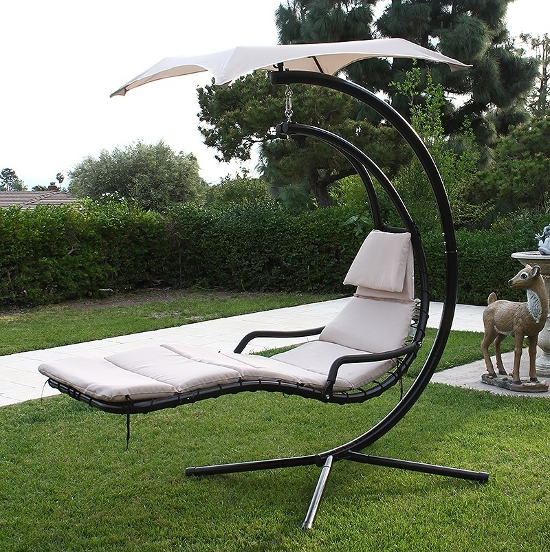 2020 Latest Chaise Lounge Swing Chairs on Hanging Helicopter Dream Lounger Chair id=76508