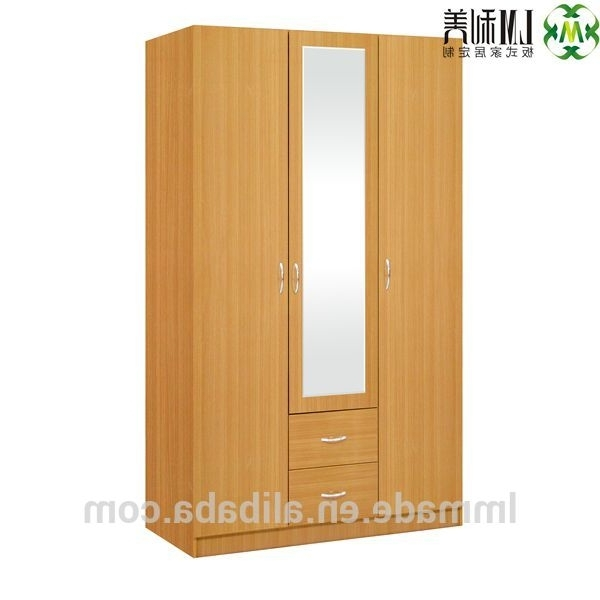 Most Up To Date Cheap Wardrobes Within Cheap Wooden Cupboard,three Door Wardrobes,bedroom Wardrobes – Buy (View 14 of 15)