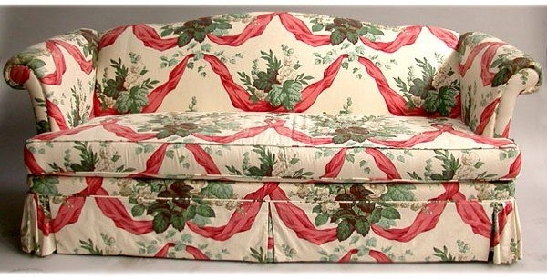 Most Up To Date Chintz Fabric Sofas Pertaining To 1336 Chintz Sofa Nr Sofa Has One Long Cush Lot 1336 Fabric Chintz (View 2 of 10)