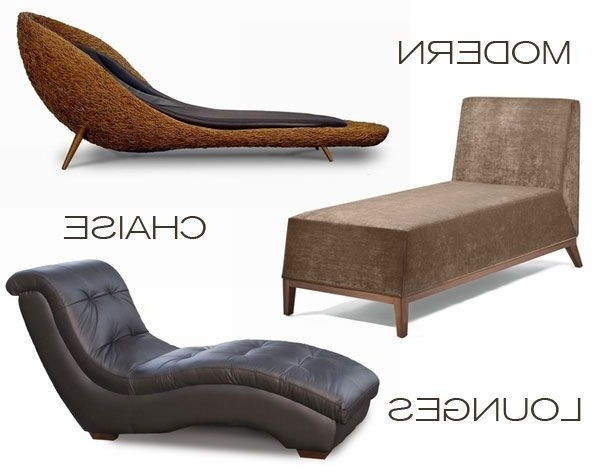 Most Up To Date Contemporary Chaise Lounge Chairs A Modern Chaise Lounge, (View 9 of 15)