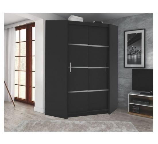 Featured Photo of Black Corner Wardrobes