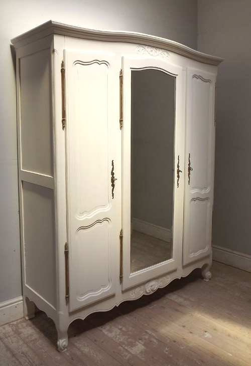 Most Up To Date French Style Armoires Wardrobes Inside If3234 French Provençal Style Triple Armoire (View 2 of 15)
