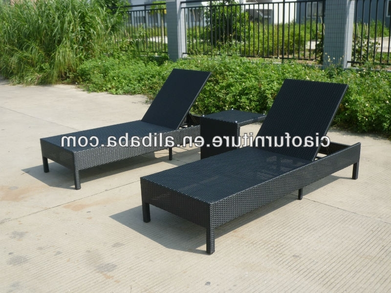 Most Up To Date High End Chaise Lounge Chairs Throughout Beautiful High End Pool Lounge Chairs High End Outdoor Black (View 10 of 15)