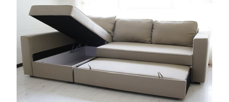 Most Up To Date Ikea Storage Sofa – Home And Textiles In Ikea Sofa Beds With Chaise (View 12 of 15)