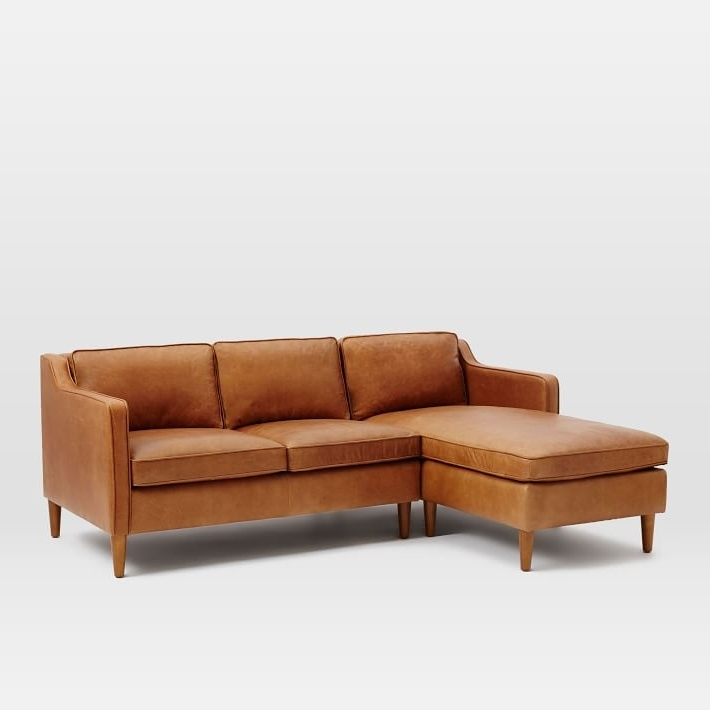 Most Up To Date Leather Chaise Sectionals In Hamilton 2 Piece Leather Chaise Sectional (View 10 of 15)