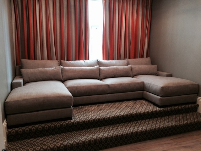 Featured Photo of Media Room Sectional Sofas