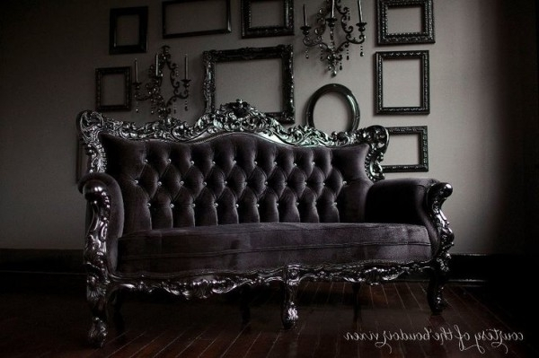 Most Up To Date New Gothic Couch 94 In Sofas And Couches Ideas With Gothic Couch Pertaining To Gothic Sofas (View 6 of 10)