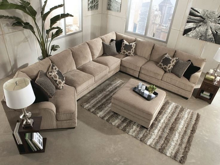 Most Up To Date Oversized Sectionals With Chaise Regarding Sectional Sofa Design: Oversized Sectional Sofas Recliners Sale (View 5 of 15)