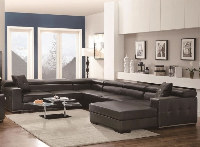 Most Up To Date Sectional Sofa Design: Adorable Large U Shaped Sectional Sofa In Large U Shaped Sectionals (View 7 of 10)