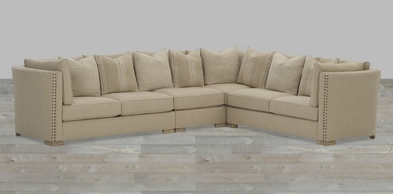 Most Up To Date Sectional Sofas With Nailhead Trim In Sectional Sofa With Nailhead Trim Sectionals Living Room  (View 6 of 10)