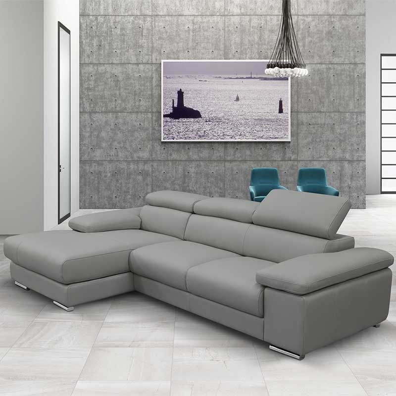 Most Up To Date Traditional Modern Grey Sofa : The Holland – Sectional Modern Grey Regarding Grey Sofa Chaises (View 11 of 15)