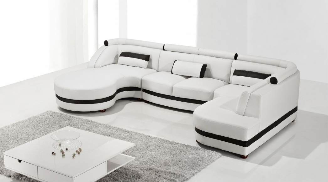 Most Up To Date Vt Sectional Sofas Throughout Entranching Living Room With Modern Sectional Sofa Com On Leather (View 6 of 10)