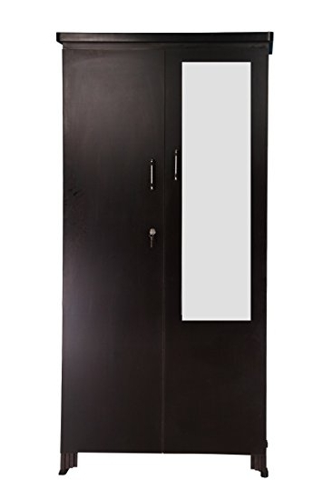Most Up To Date Wardrobes With Mirror And Drawers Throughout Generic Double Door Wardrobe With Mirror And Drawers In Dark (View 9 of 15)