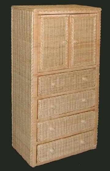 Most Up To Date Wicker Armoire Wardrobes Within Wicker Armoire Wardrobe (View 7 of 15)