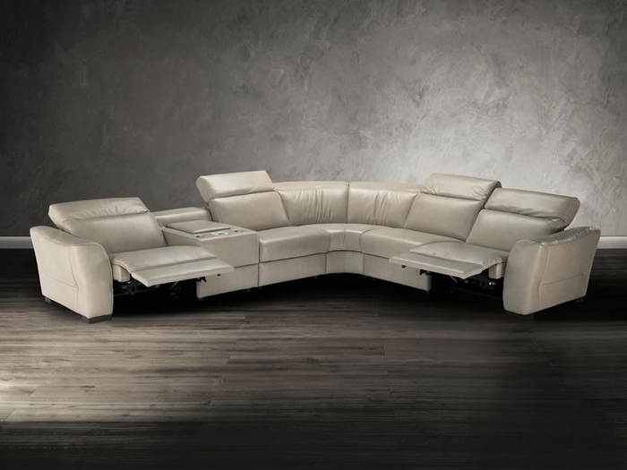 Natuzzi Sectional Sofas For Newest Natuzzi Editions Sectional Sofa B708 Modern Sectional Sofas (Gallery 9 of 10)