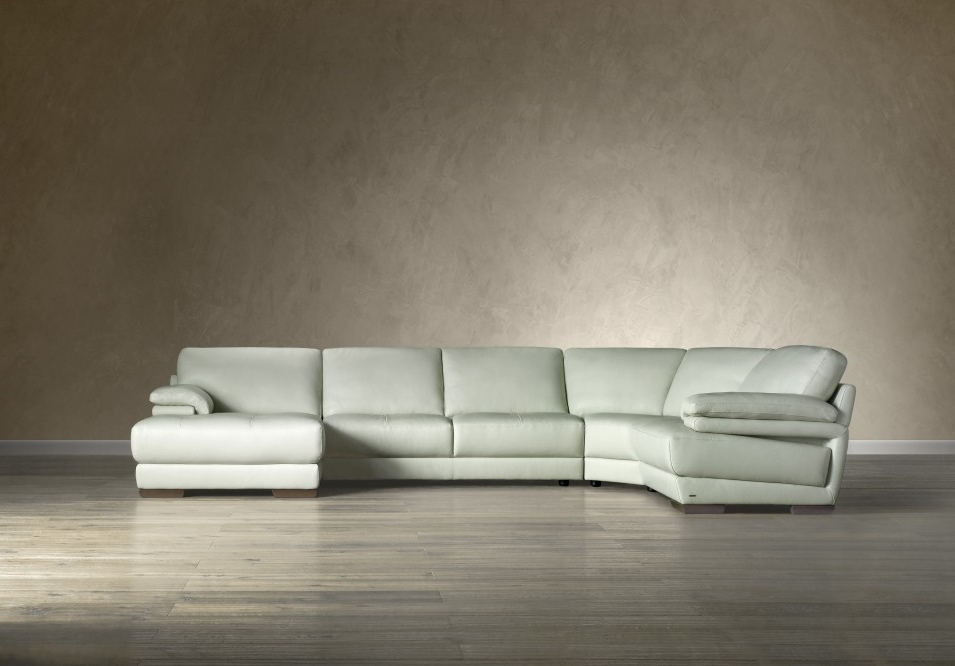 Natuzzi Sectional Sofas Intended For Popular Natuzzi B 504 Leather Sectional – Italmoda Furniture Store (View 8 of 10)