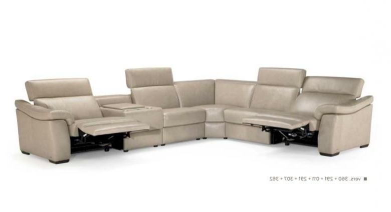Natuzzi Sectional Sofas Pertaining To Most Recent Natuzzi Editions B760 Leather Sectional (View 9 of 10)