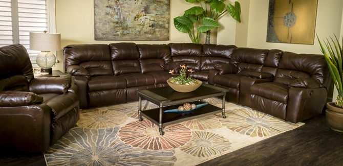 buy off nebraska mart couch sofas furniture leather reclining brown couches