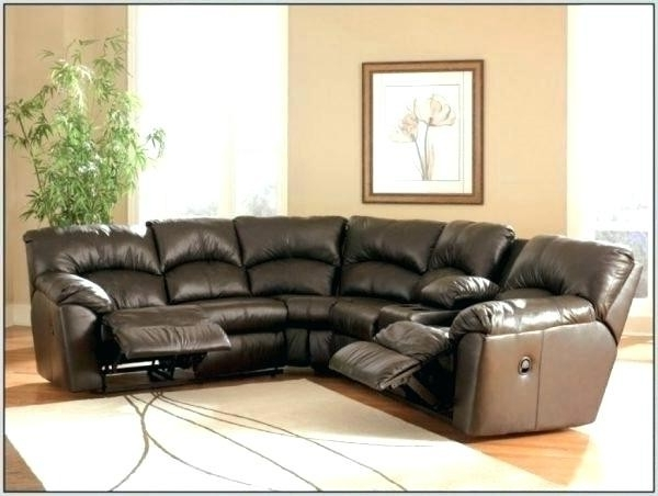 New Curved Reclining Sectional Sofa • The Ignite Show Throughout Preferred Curved Recliner Sofas (Gallery 3 of 10)