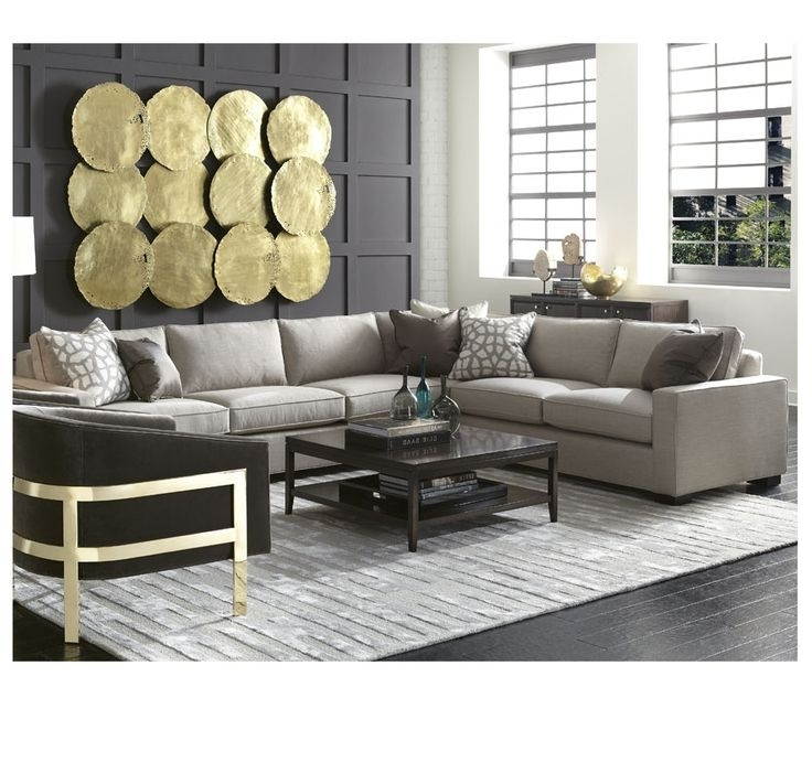 New Mitchell Gold Sectional Sofa 51 For Your Living Room Sofa Regarding Famous Gold Sectional Sofas (View 8 of 10)