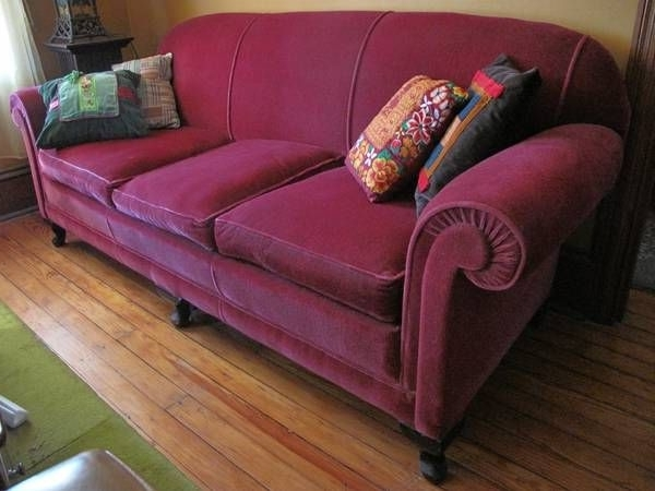 Newest 1930S Sofas Pertaining To Vintage Mohair Sofa – 1930S Era – This Very Much Resembles The Old (Gallery 10 of 10)